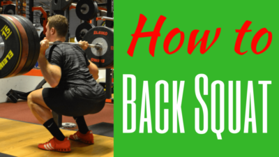 Back Squat technique How to Back Squat How to do a Back Squat