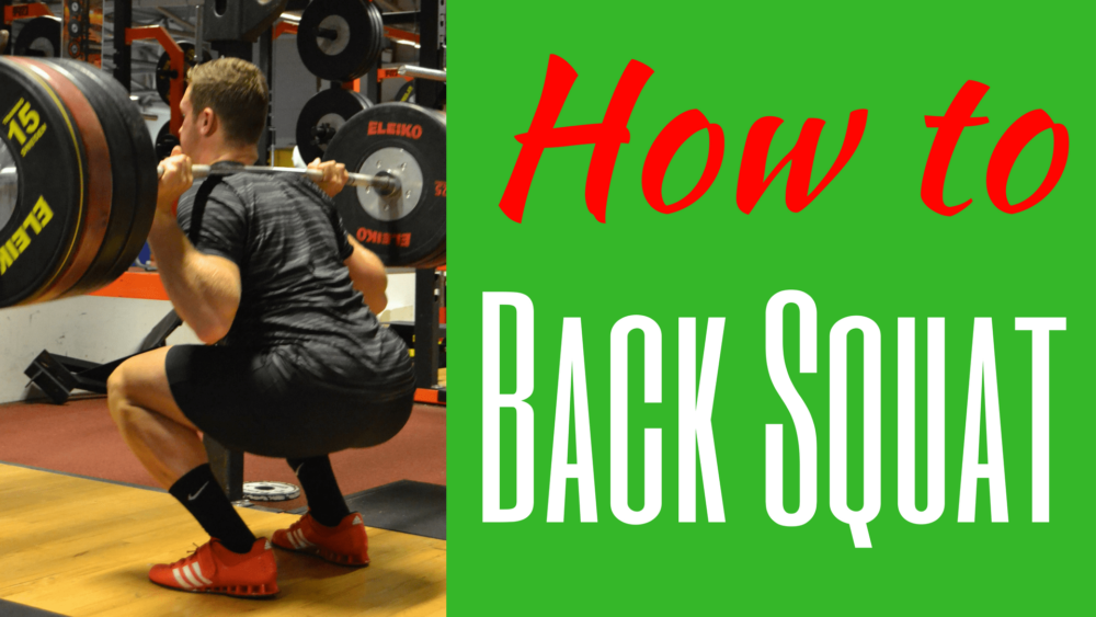How to do a Back Squat - Christian Bosse
