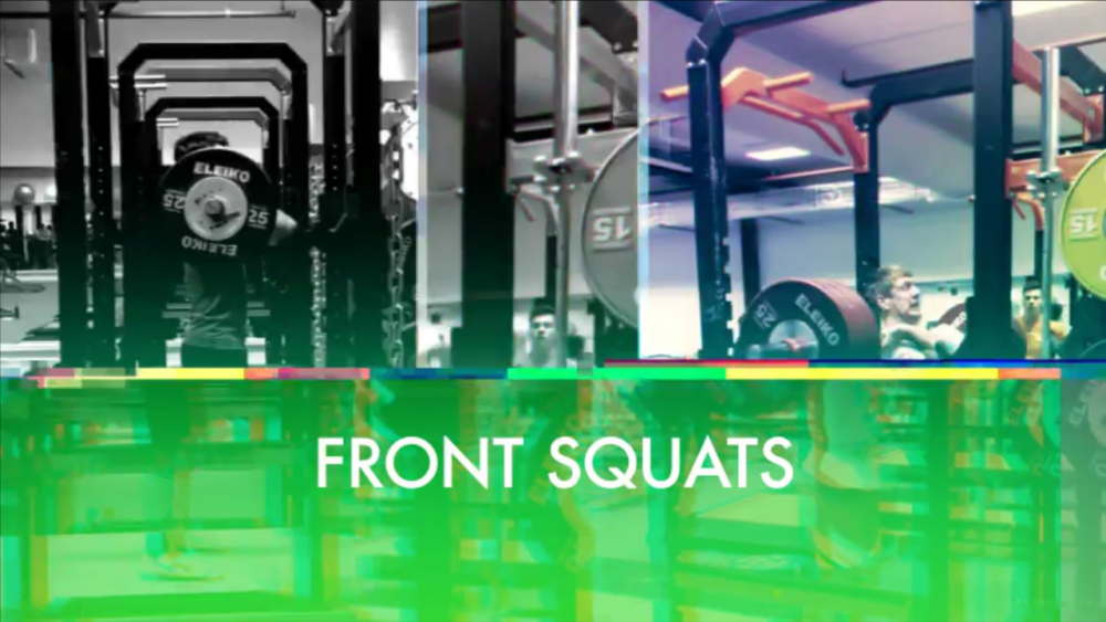 Front Squat Front Squats Front Squat vs Back Squat