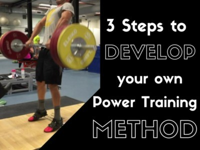Power Training, Power Training Method