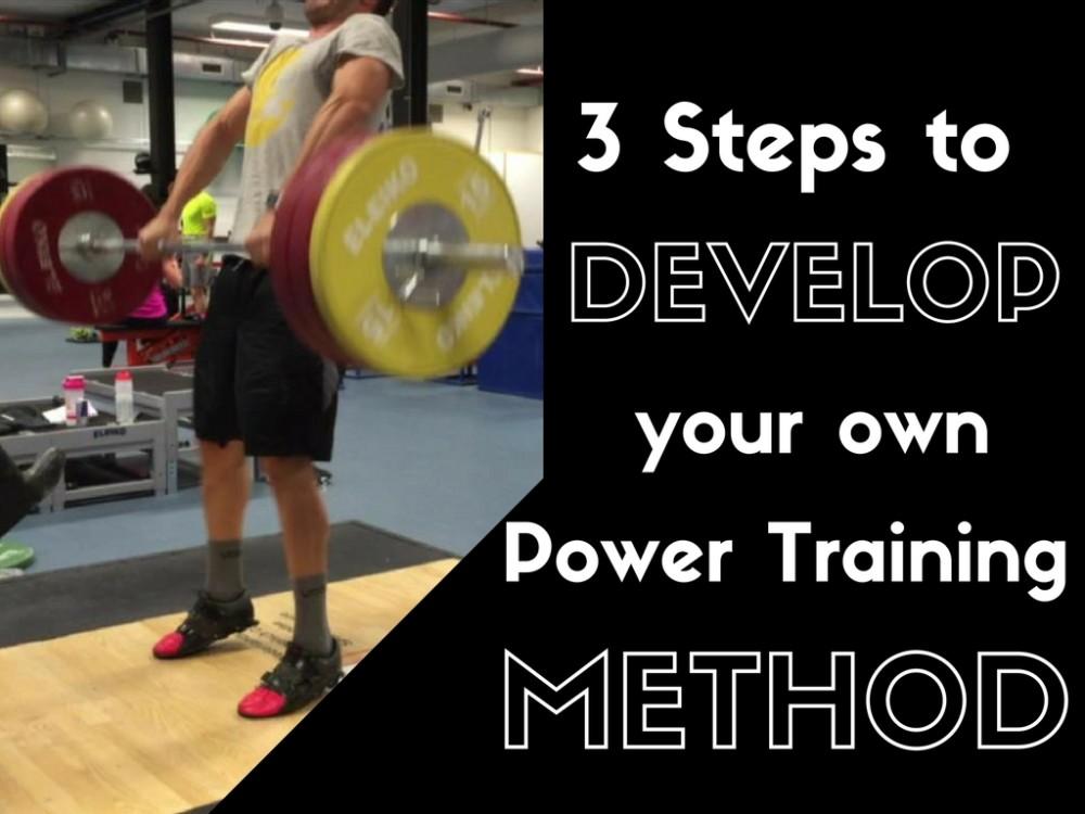 Power Training, Power Training Method