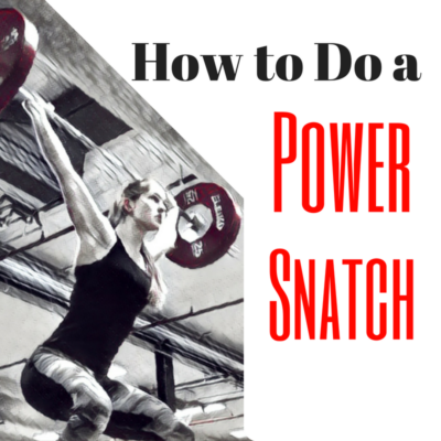 Power Snatch - Power Snatch technique - How to do a Power Snatch