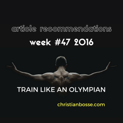 article recommendations week 47 2016 strength training