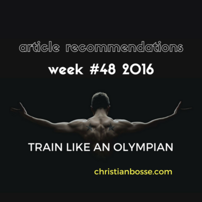 article recommendations week 48 2016 strength training