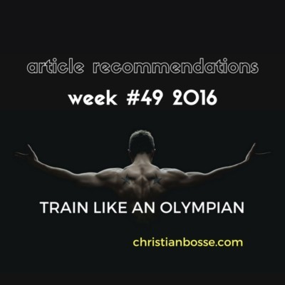 article recommendations week 49 2016 strength training