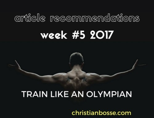 Article recommendations week #5 2017