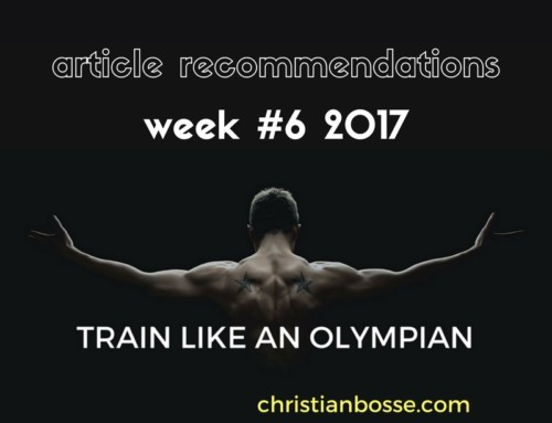 Article recommendations week #6 2017