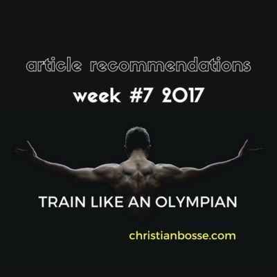 article recommendations week 7 2017 strength training