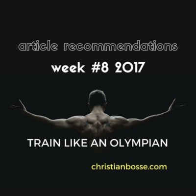 article recommendations week 8 2017 strength training
