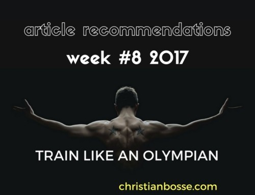 Article recommendations week #8 2017