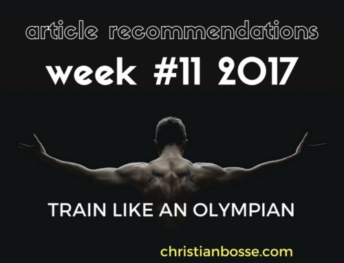 Article recommendations week #11 2017