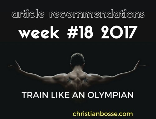 Article recommendations week #18 2017
