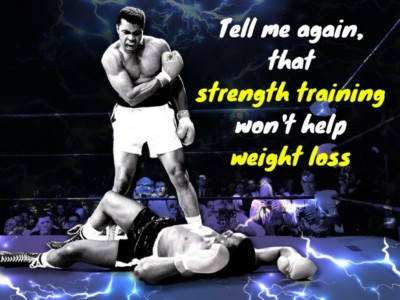 Muhammad Ali Strength Training and Weight Loss