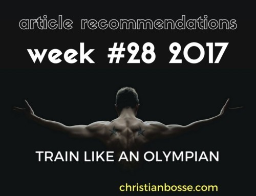 Article recommendations week #28 2017