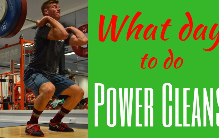 what day to do power cleans what day should i do power cleans Power Clean what day