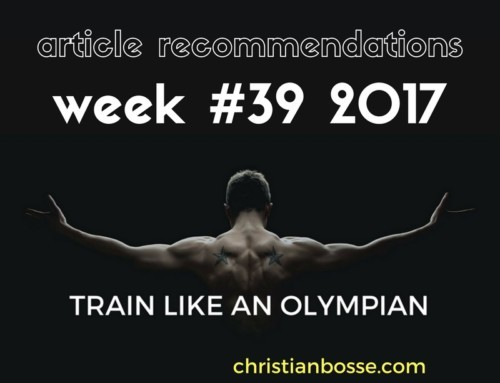 Article recommendations week #39 2017