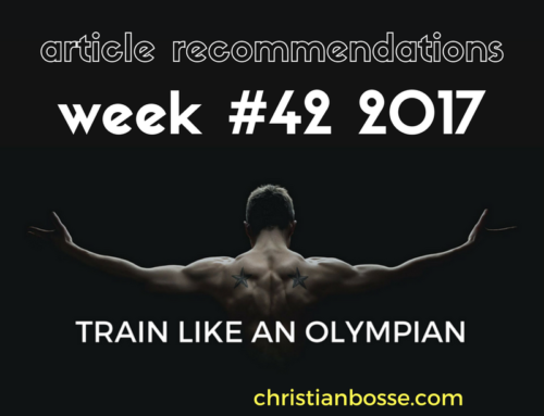 Article recommendations week #42 2017