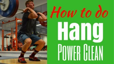 Hang Power Clean technique How to do a Hang Power Clean How to do Hang Power Cleans