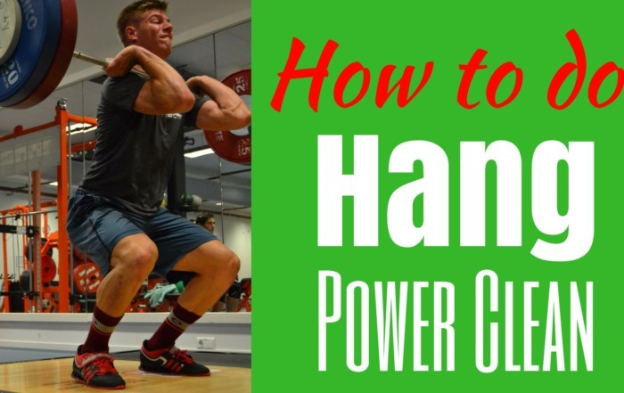 Hang Power Clean technique How to do a Hang Power Clean How to do Hang Power Cleans