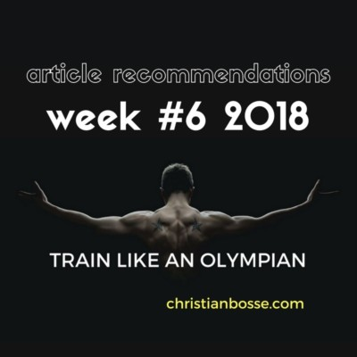 article recommendations week 6 2018 topics strength training power training olympiclifting Back Squat Front Squat and much more
