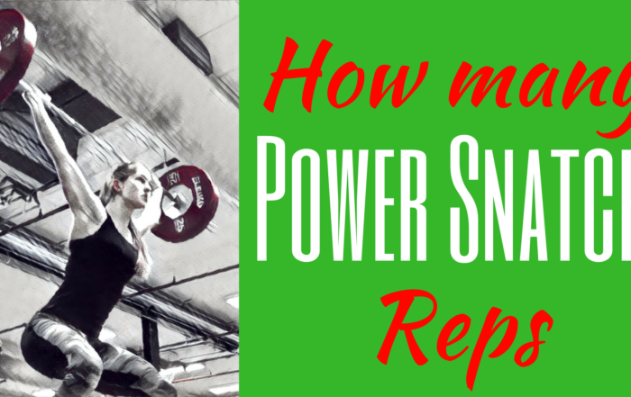 How many Power Snatch reps