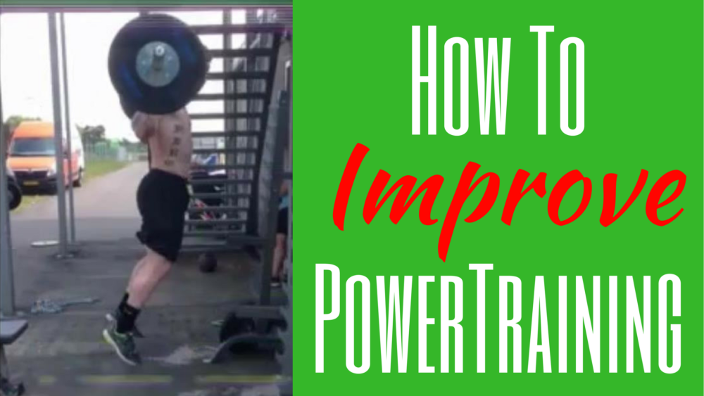 How to improve power training