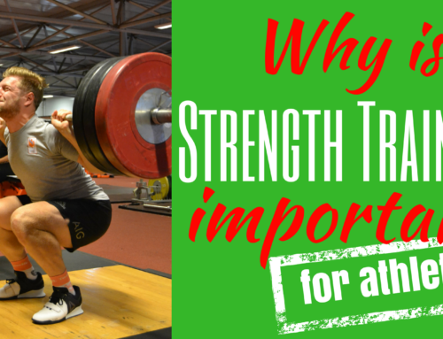 Why is strength training important for athletes?