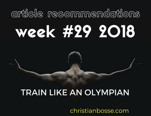 Article recommendations week #29 2018