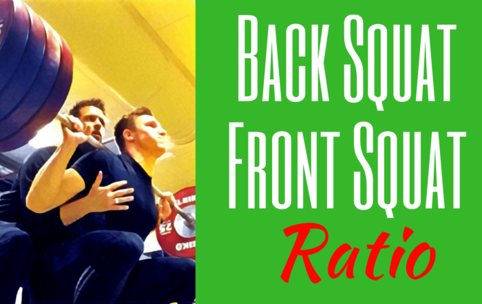 back squat front squat ration front squat back squat ratio