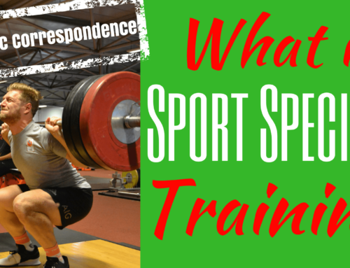What is Sport Specific Training and what is Dynamic Correspondence