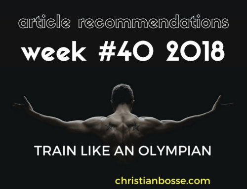 Article recommendations week #40 2018