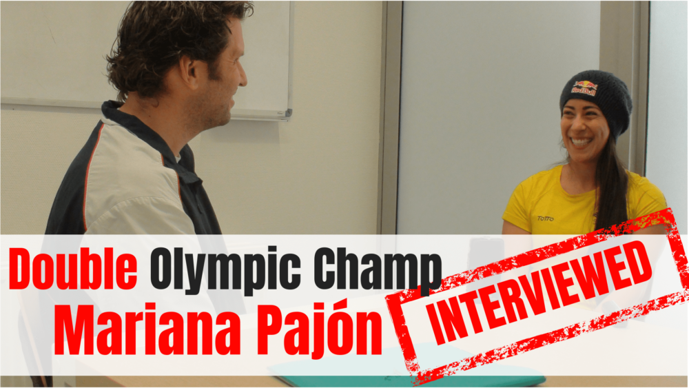 Olympic athletes interviewed Mikel Tomas olympian-YT