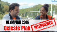Cleleste Plak volleyball interview