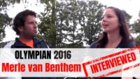 Merle van Benthem interviewed Merle van Benthem BMX
