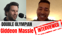 Giddeon Massie track cyclist interview