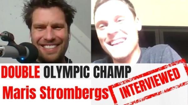 Olympic athletes interviewed Anjelika Reznik Olympian YT