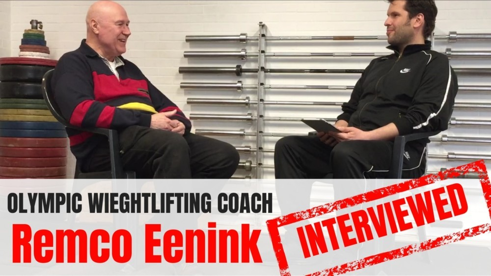 Remco Eenink interview Olympic Weightlifting Coach