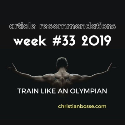 best fitness and strength training articles of week 33 2019