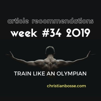 best fitness and strength training articles of week 34 2019