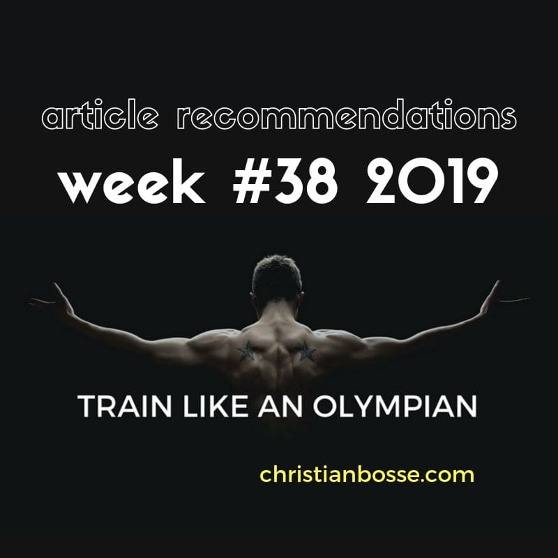 best fitness and strength training articles of week 38 2019