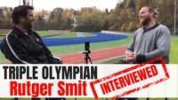 Rutger Smit interview rutger smit olympian interviewed