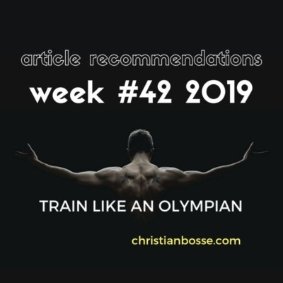 best fitness and strength training articles of week 42 2019