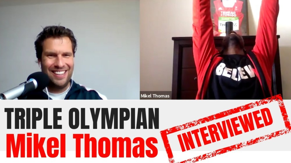 Mikel Thomas interview Mikel Thomas track and field