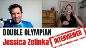 Olympic athletes interviewed Jessica Zelinka Olympian-YT