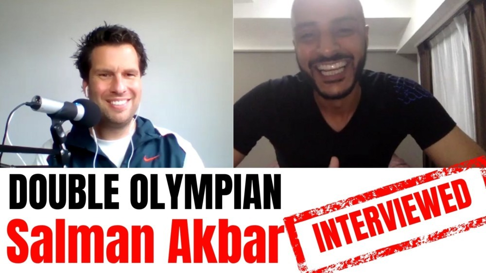 Salman Akbar interviewed Salman Akbar double olympian