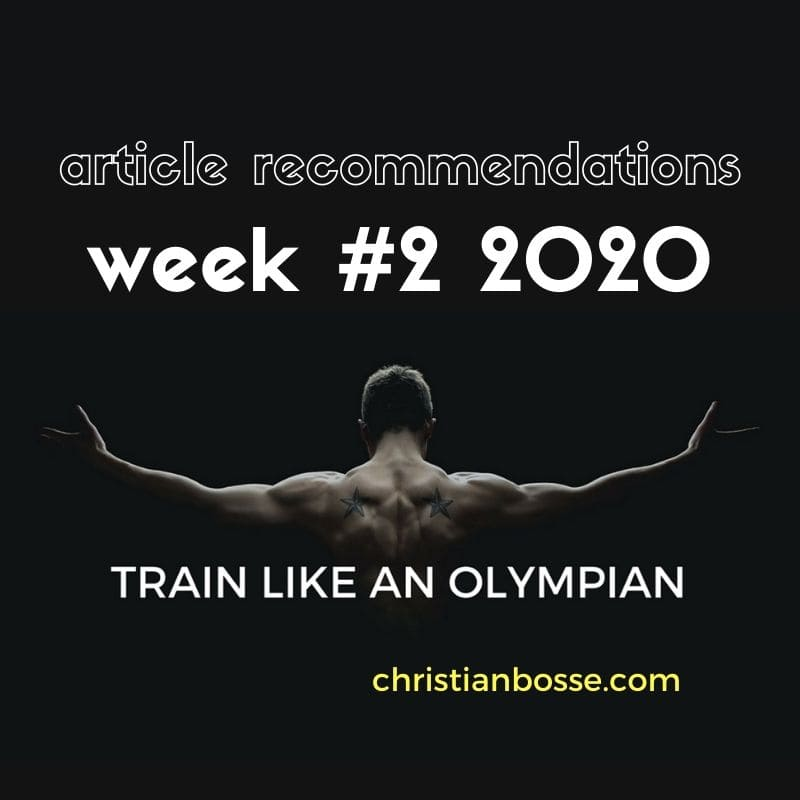 best fitness and strength training articles of week 2 2020