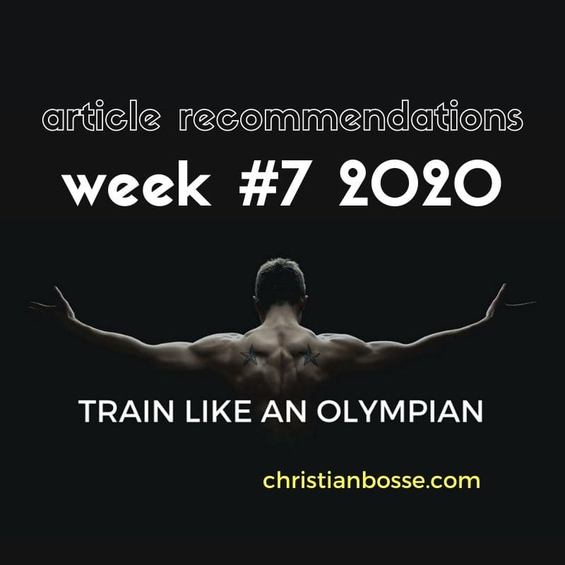 best fitness articles week 7 2020