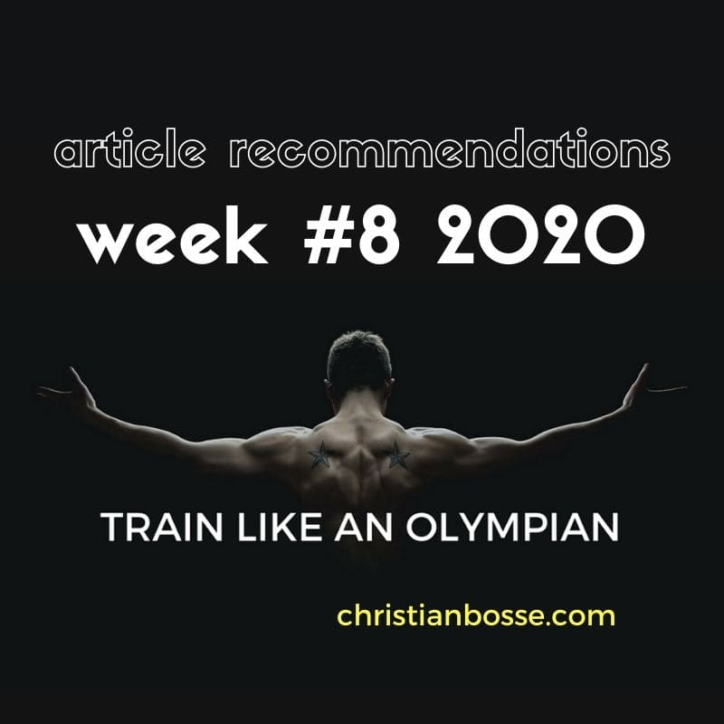 best fitness articles week 8 2020
