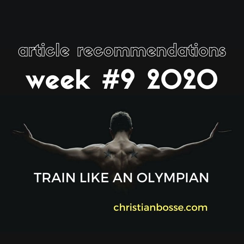 best fitness articles week 9 2020