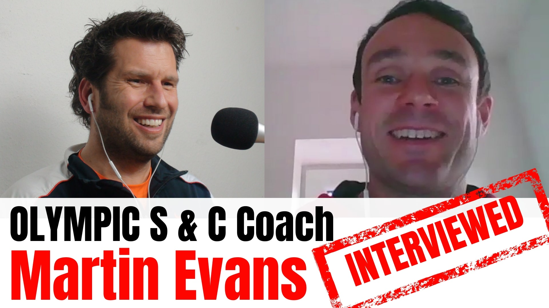 Martin Evans interview
